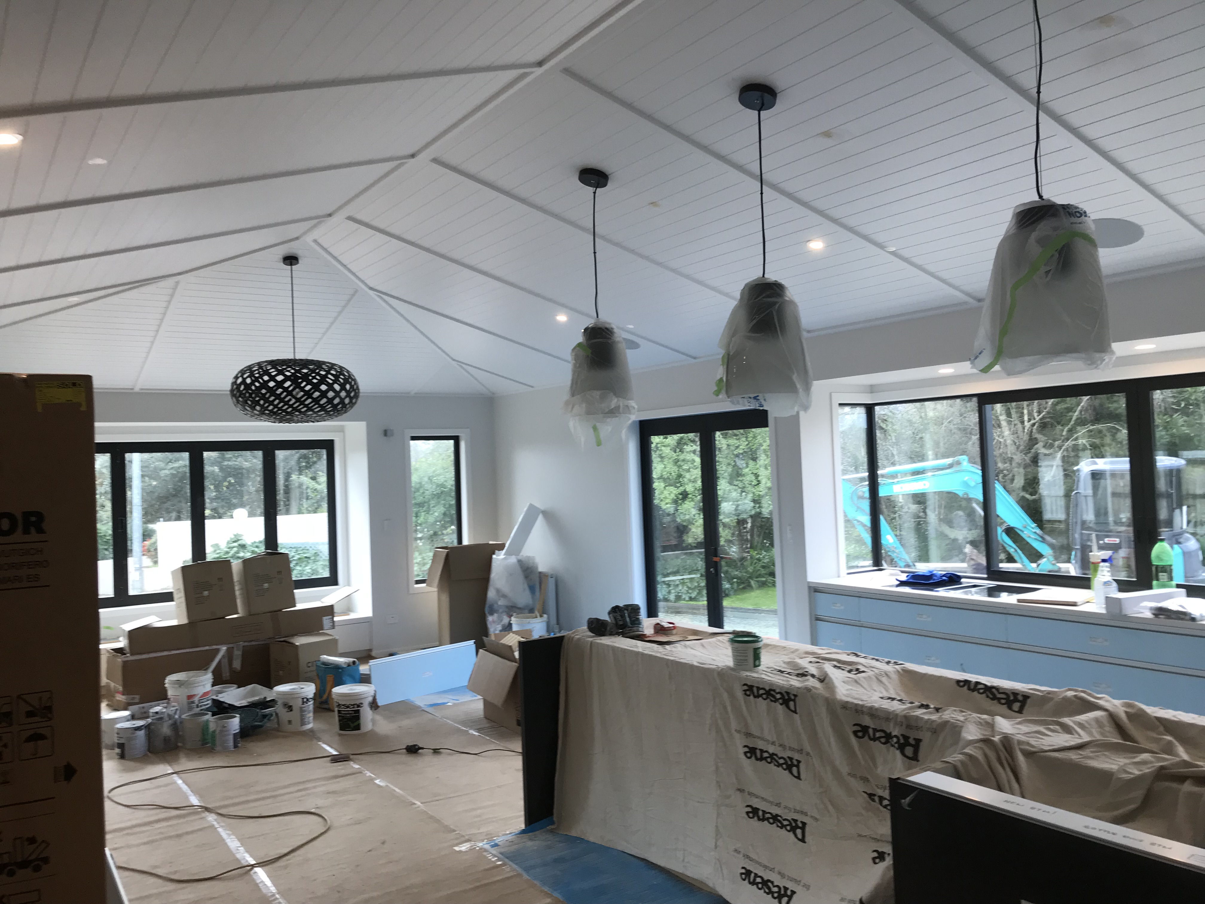 new home Interior painting and preparation by Fletcher Painting Ltd